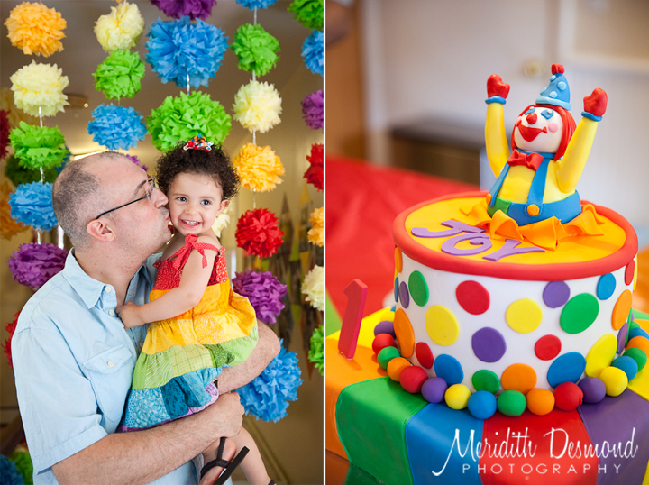 Rainbow First Birthday Party Nj And Nyc Lifestyle Family