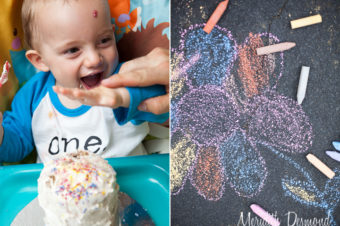 Colorful First Birthday